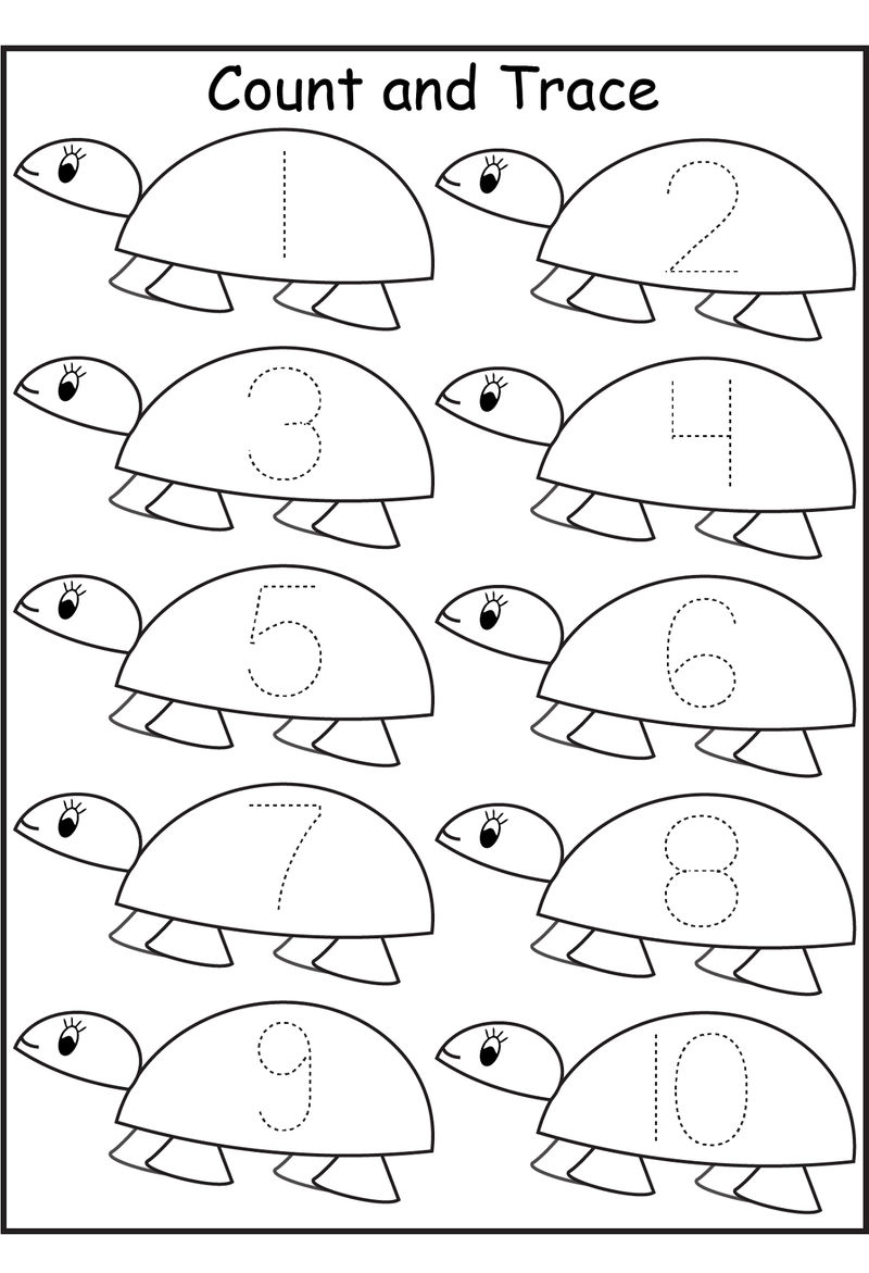 Number Worksheets Preschool