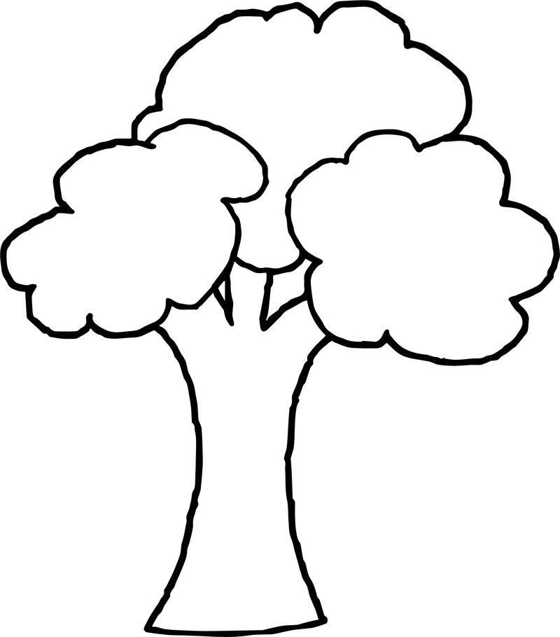 Obedient Apple Tree Coloring Page