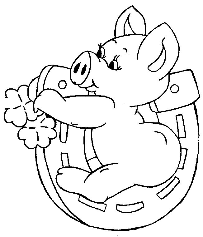 Olivia The Pig Coloring Pages