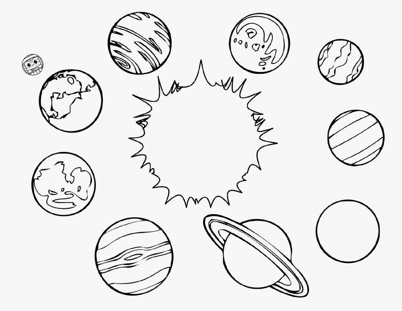 Outer Space Worksheets Planets