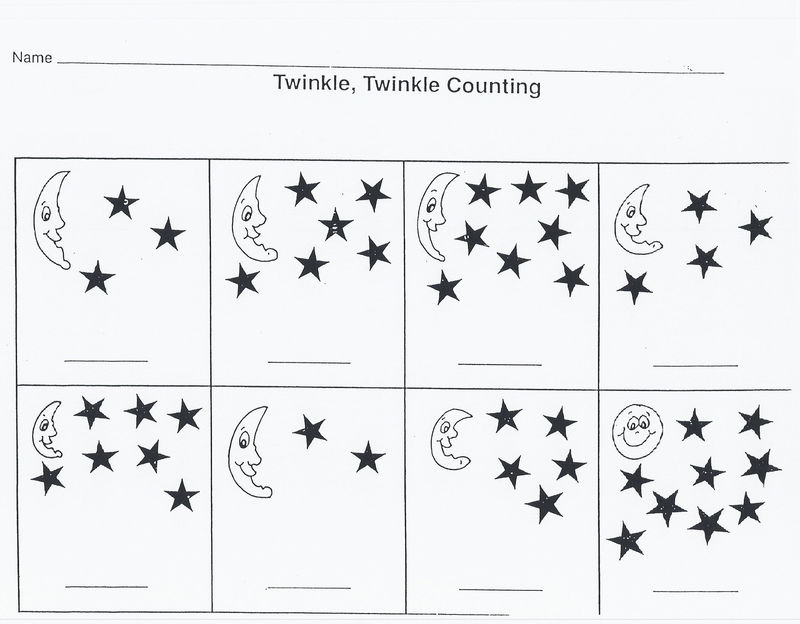 Outer Space Worksheets Preschool