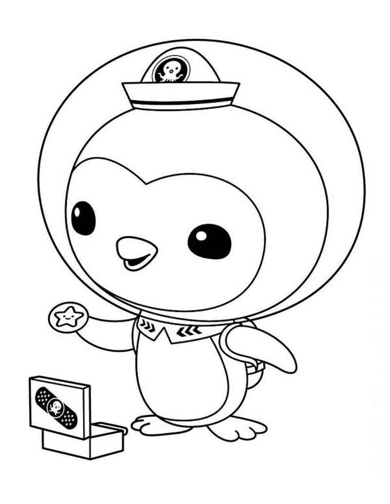 Peso Octonauts Coloring Pages