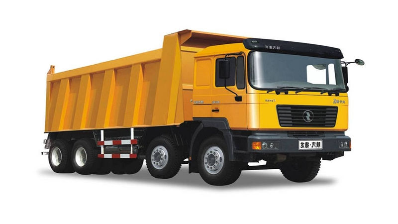 Pictures Of Big Trucks For Kids Orange