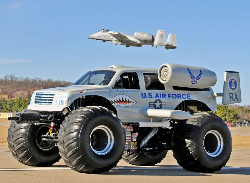 Pictures Of Big Trucks For Kids Us Force