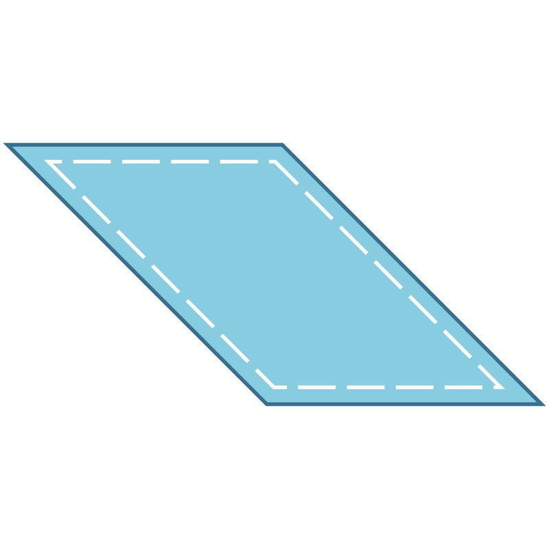 Pictures Of Rhombus Shapes Interesting