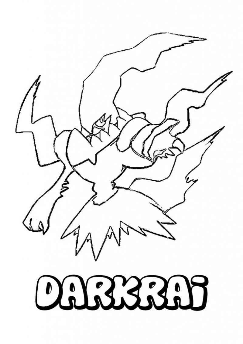 Pokemon Online Coloring Pages