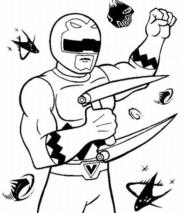 Power Ranger Ninja Storm Coloring Pages | FREE COLORING PAGES