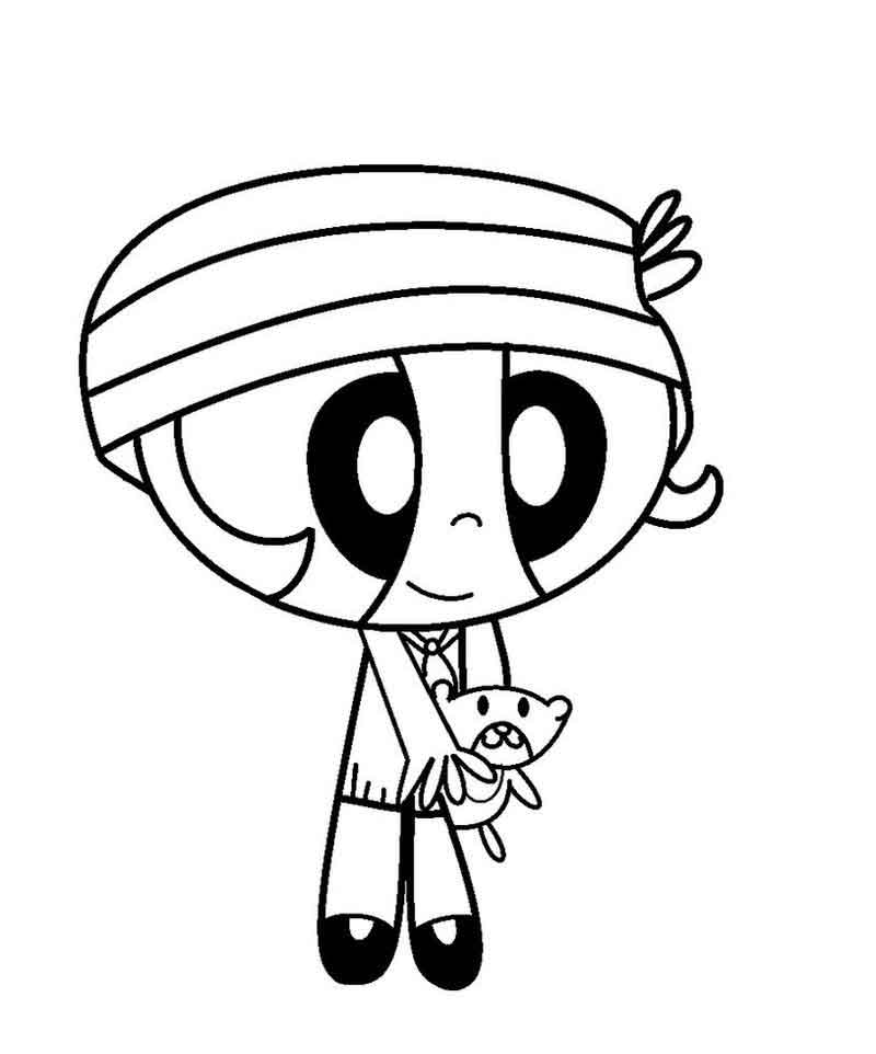 Powerpuff Girl Coloring Pages For Kids