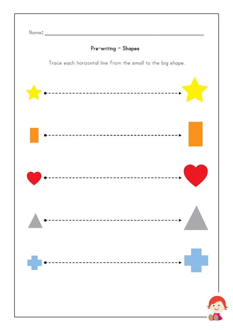 Pre K Shapes Worksheets To Print 001