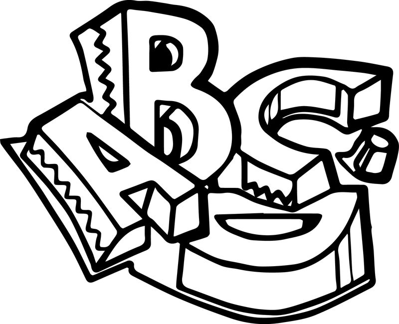 Preschool Abcd Coloring Pages