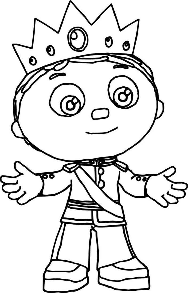 Print Free Super Why Coloring Pages