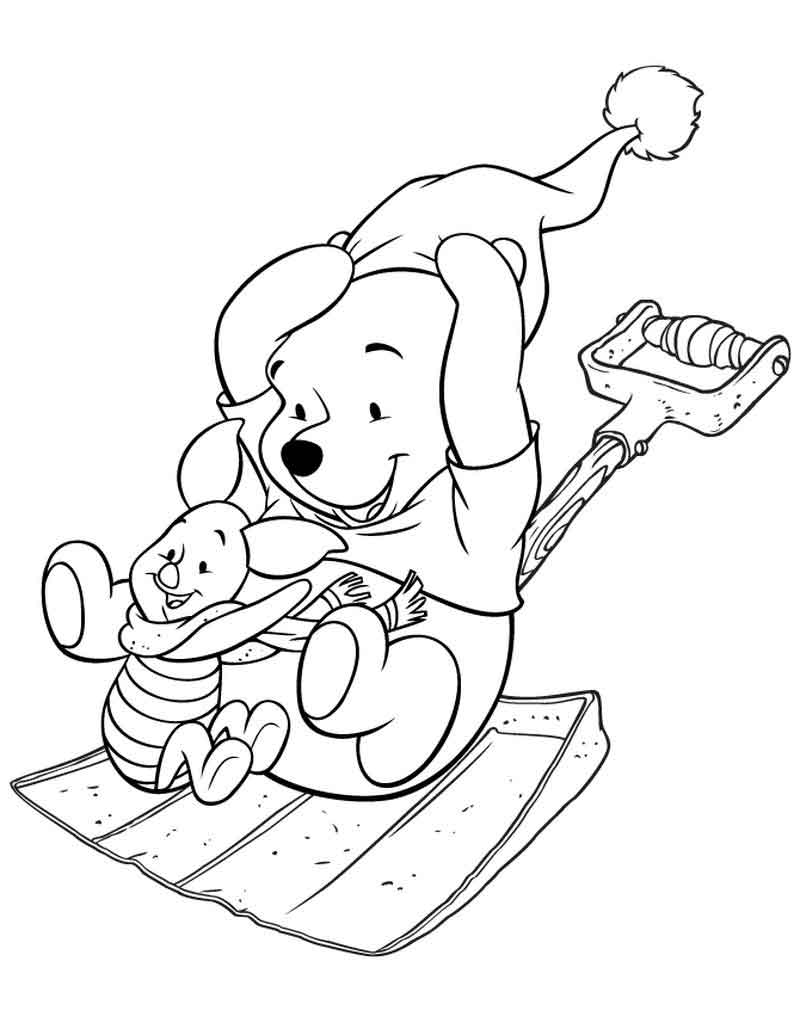 Print Piglet Coloring Page Free
