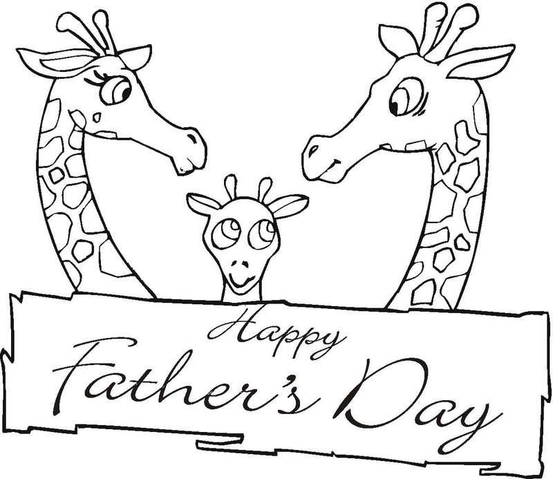 Print Free Fathers Day Coloring Pages 001