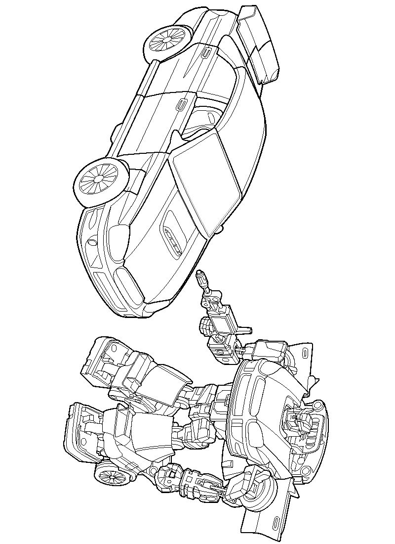 Print Free Transformers Coloring Pages