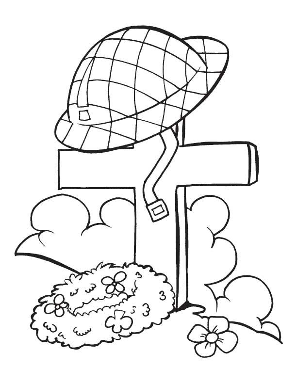 Print Memorial Day Coloring Page