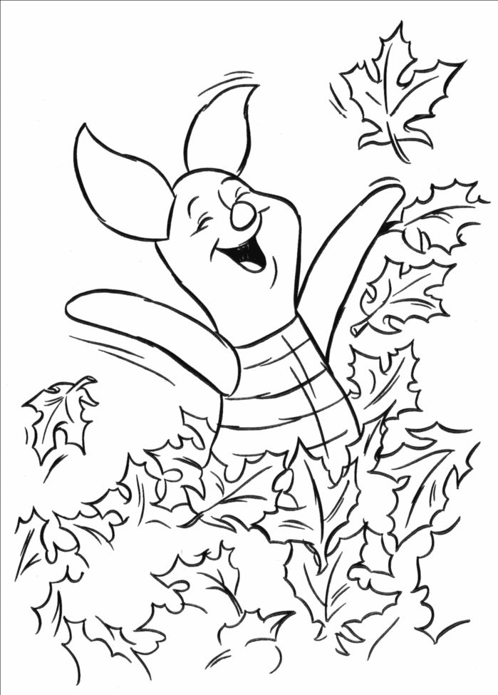 Print Piglet Coloring Pages Free