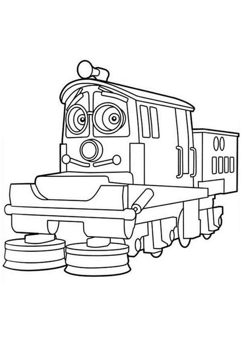 Printable Chuggington Coloring Pages