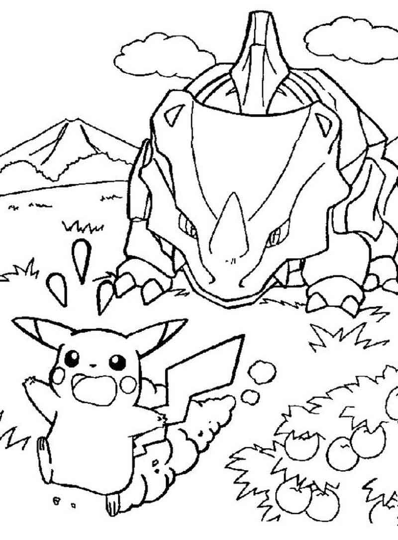 Printable Coloring Pages For Pikachu