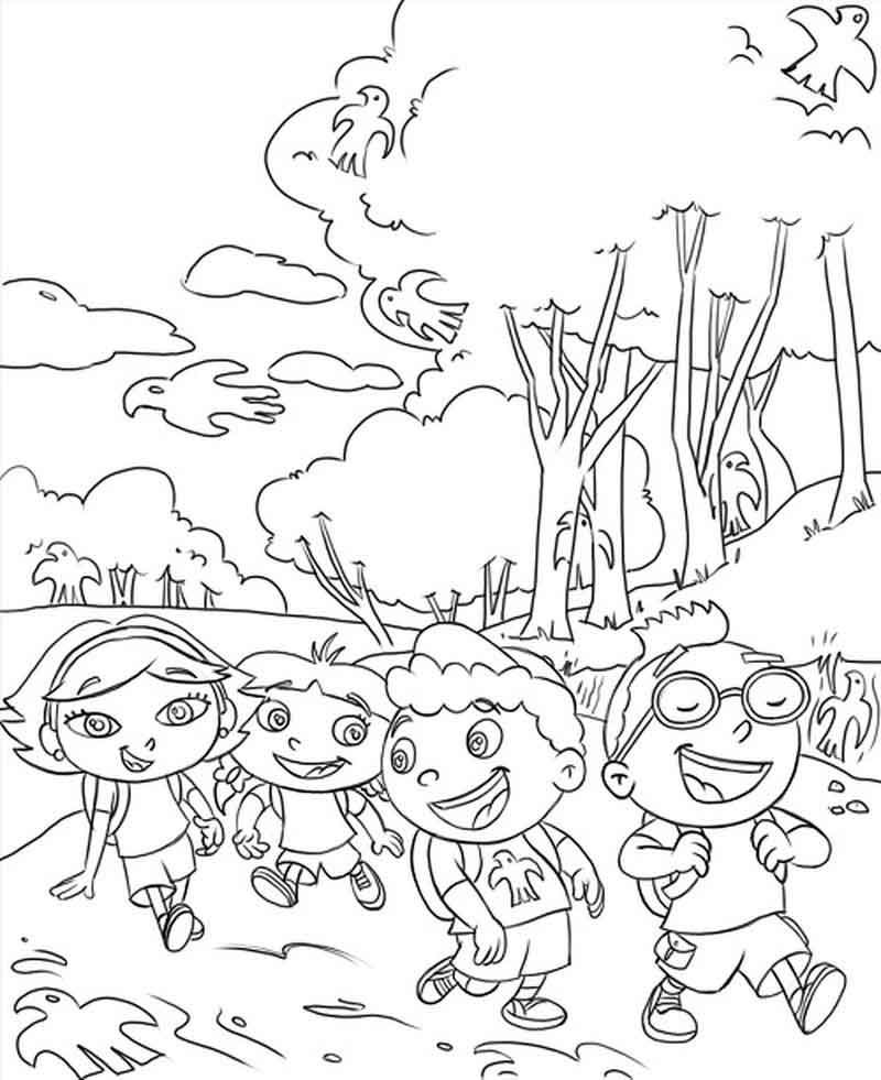 Printable Little Einsteins To Color
