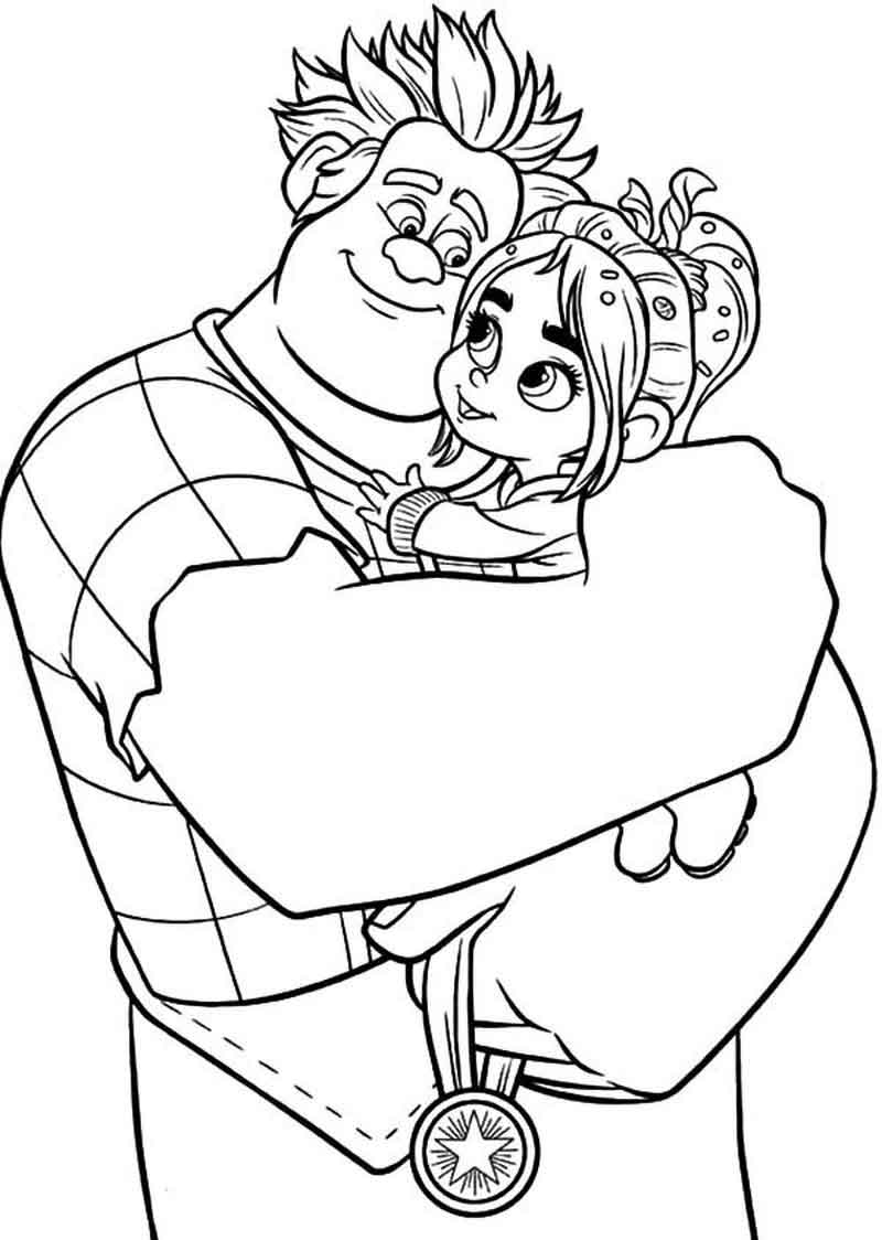 Printable Wreck it Ralph Coloring Pictures