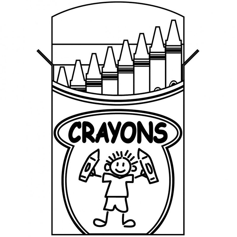 Printable Back To School Coloring Page 001
