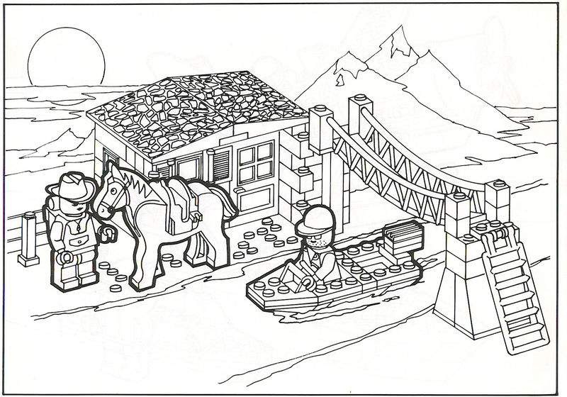 Printable Lego Coloring Pages 001