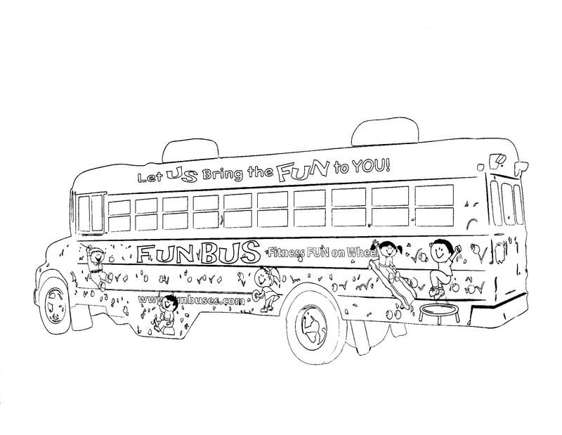 Printable School Bus Coloring Pages 001