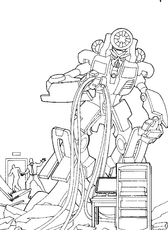 Printable transformer coloring pages1
