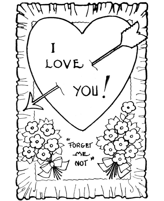 Printable Valentines Day Cards 1