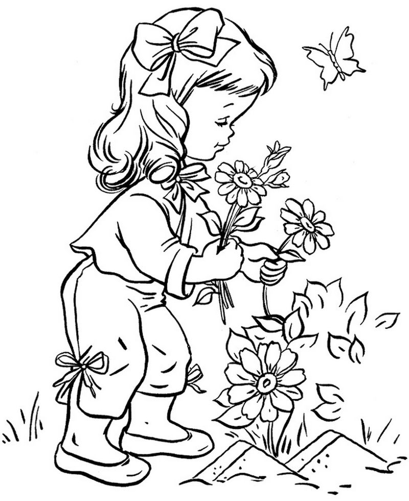 Printables For Kids Flowers