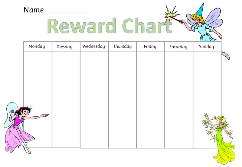 Reward Chart Template 7