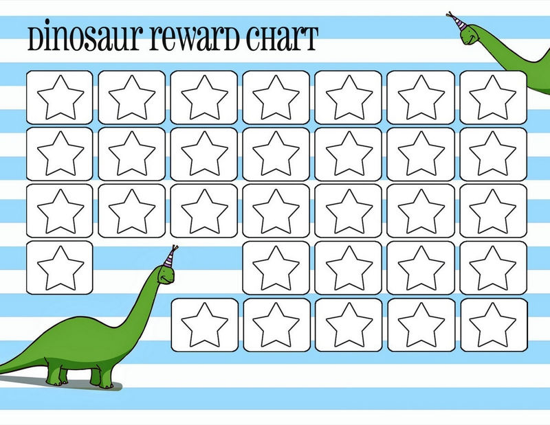 Reward Charts For Kids Simple