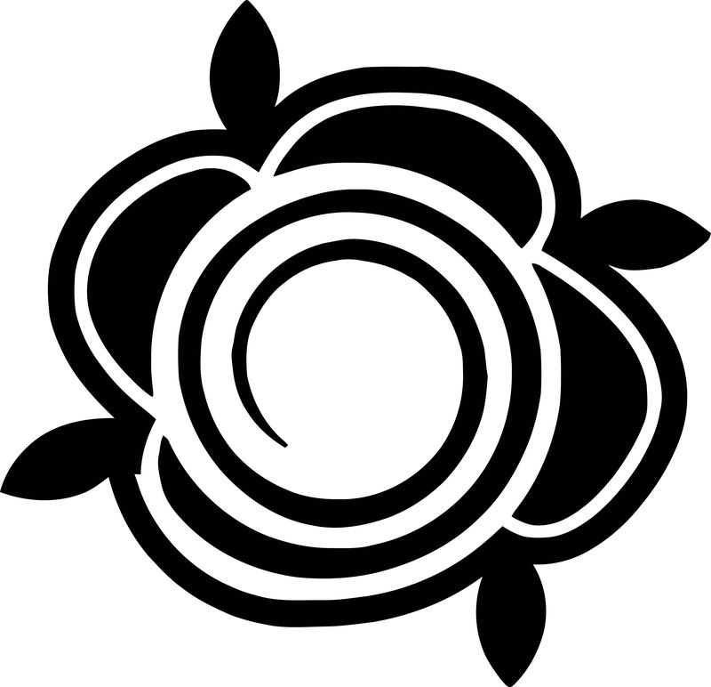 Rose Flower Coloring Page 056