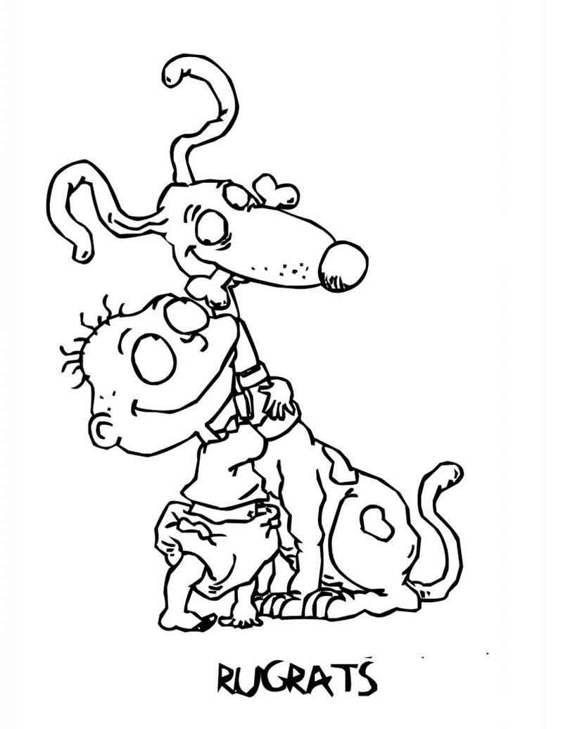 Rugrats Coloring Page Pictures
