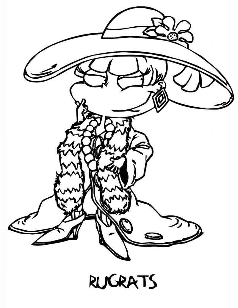 Rugrats Coloring Pages Sheets