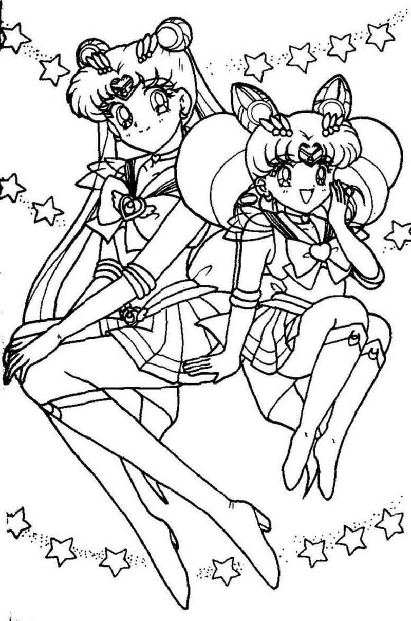 Sailor Moon Coloring Page Images