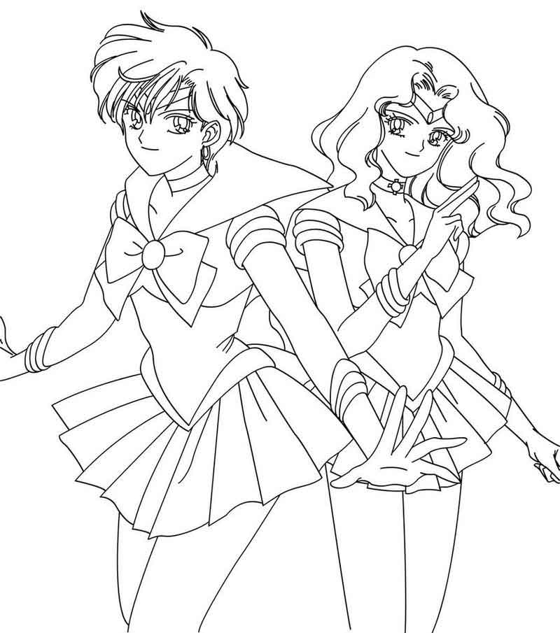 Sailor Moon Coloring Pages Images