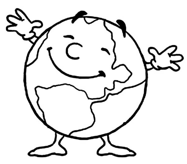 Save The Earth Day Coloring Pages