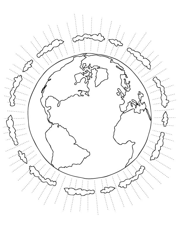 Save The Planet Earth Day Coloring Pages