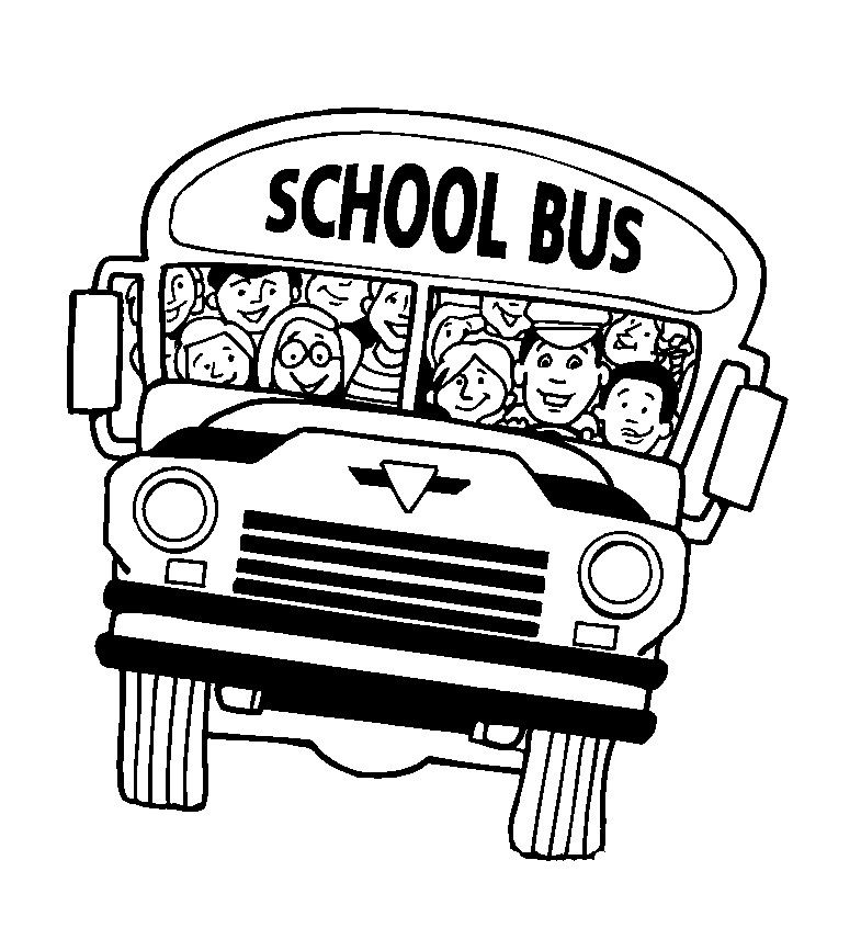 School Bus Coloring Pages To Print 001