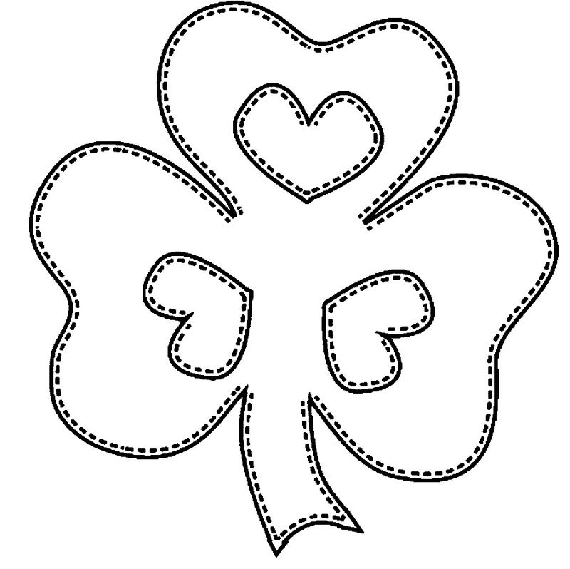 Shamrock St Patricks Day Coloring Pages