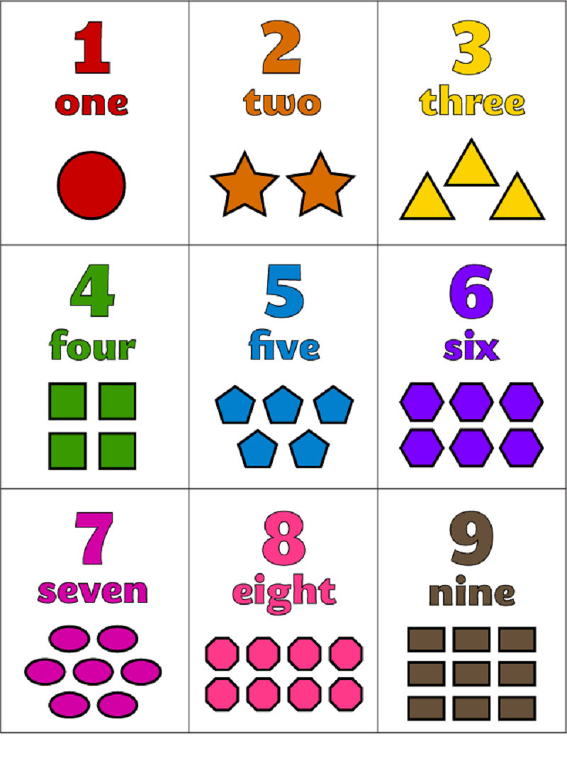 Shapes And Numbers Fun