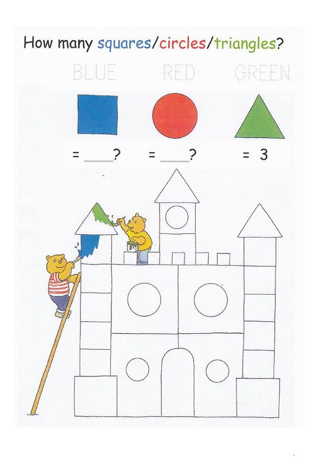 Shapes And Numbers Sheet