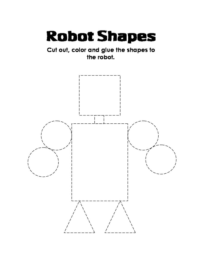 Shapes Coloring Pages Pictures