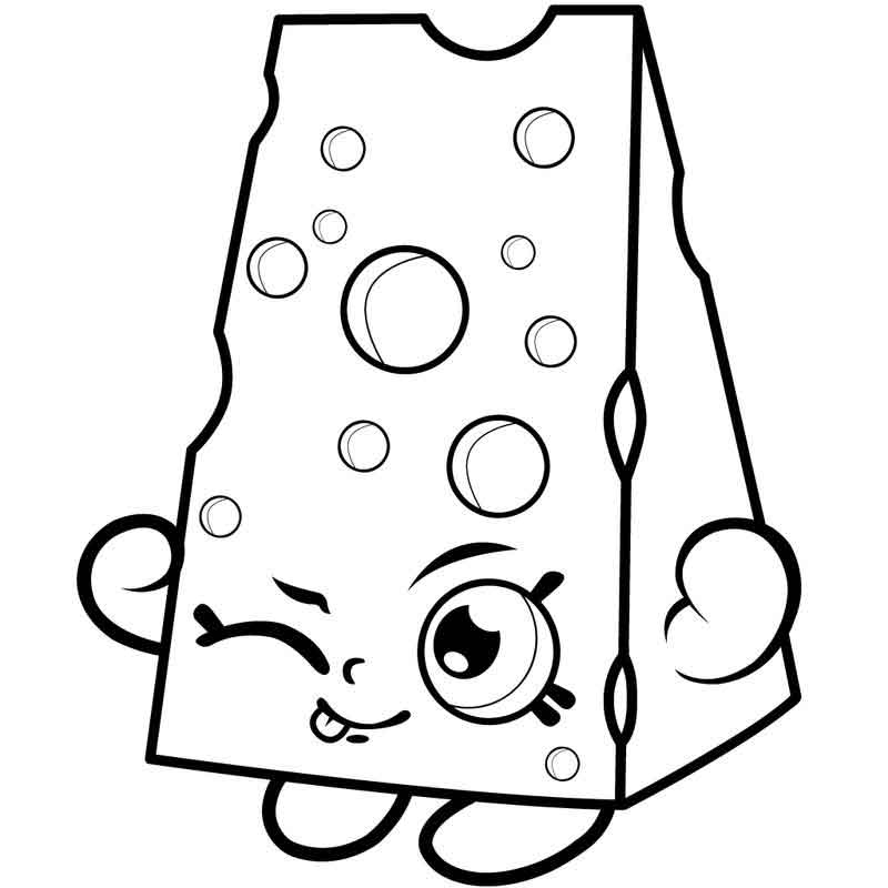 Shopkins Coloring Page Images