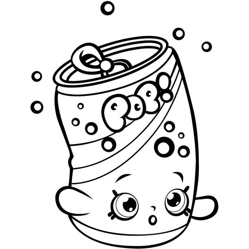 Shopkins Coloring Pages Image