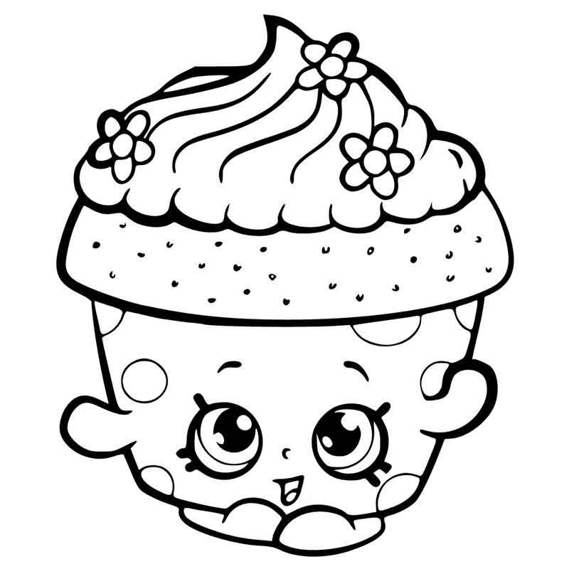 Shopkins Coloring Pages Picture