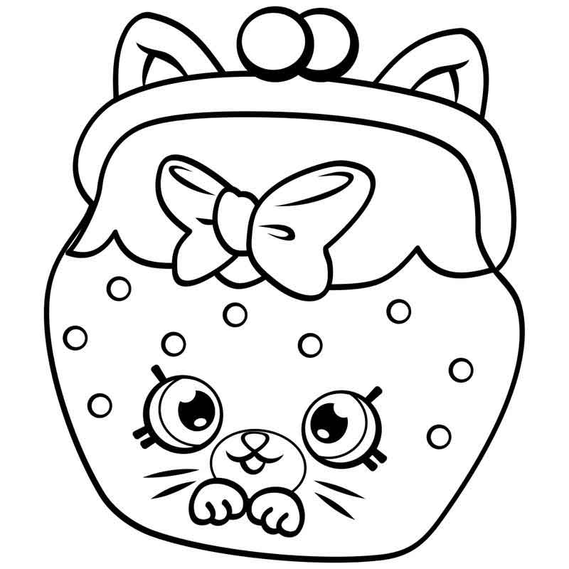 Shopkins Coloring Pages Pictures