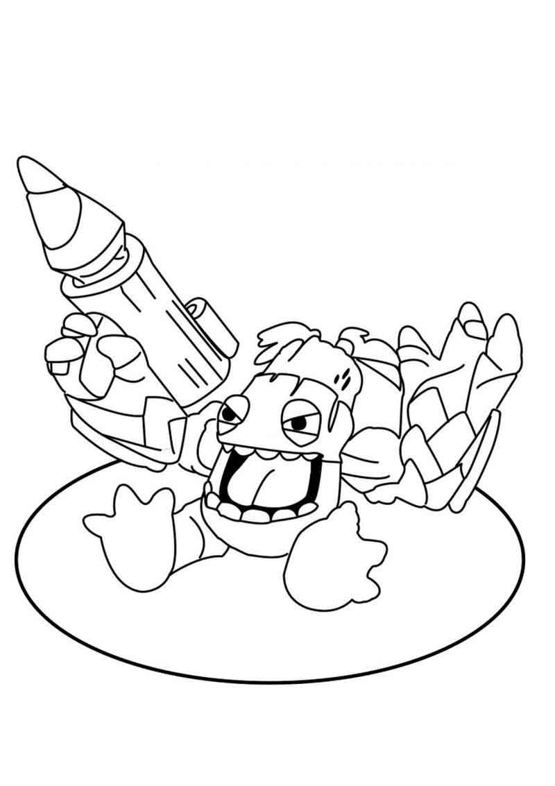 Skylanders Giants Printable Coloring Pages