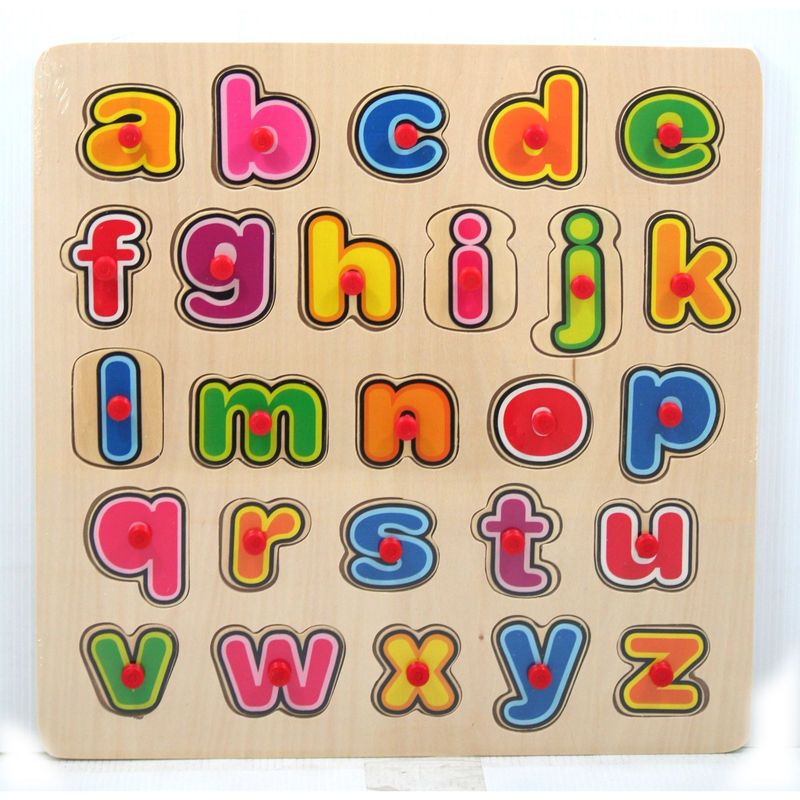 Small Alphabet Letters Colorful